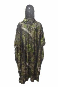 Poncho camo Natural blind