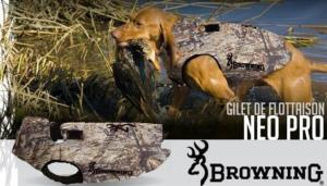 Gilet néoprène pour chien Browning Dirty bird neo