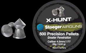 Plombs X Hunt Stoeger 4.5