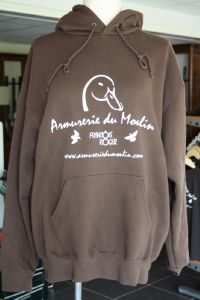 Sweat Capuche Armurerie du Moulin Duck
