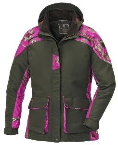 Veste femme Red deer lady Camo Pink Pinewood