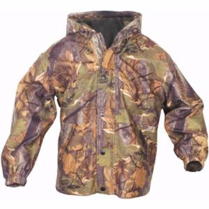 Veste Enfant Imperméable camo English Oak