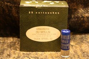 Armurerie du Moulin Duck steel 32