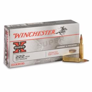 Winchester 222 Rem Soft Point