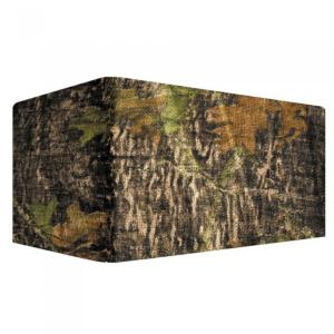 Filet camouflage burlap mossy oak breal up