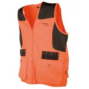 Gilet  T 250  fluo anti ronce Treeland