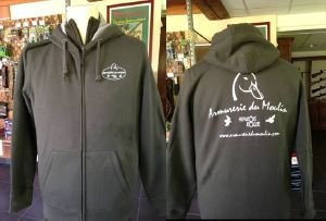 Sweat Capuche zippé Armurerie du Moulin