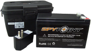 Kit Batterie 12v Spypoint + boitier + chargeur