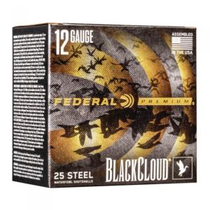 Federal Premium Acier Black Cloud 12/76 36g N°2
